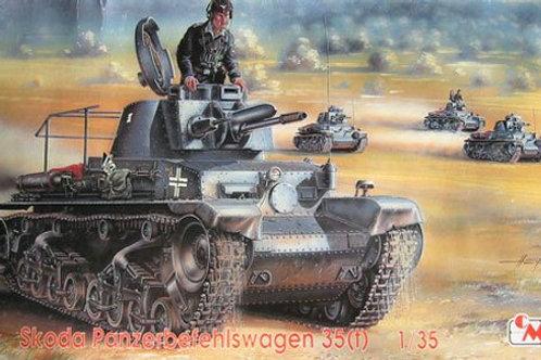 Czech Master - Skoda Panzerbefehlswagen 35(t) 1/35