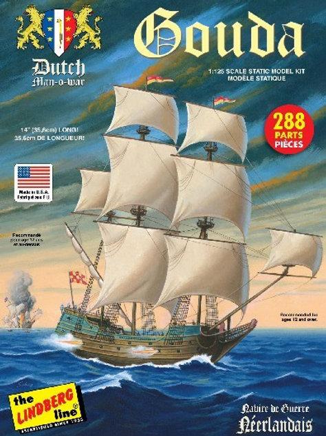 Lindberg - Gouda Dutch Man-O-War 1/125