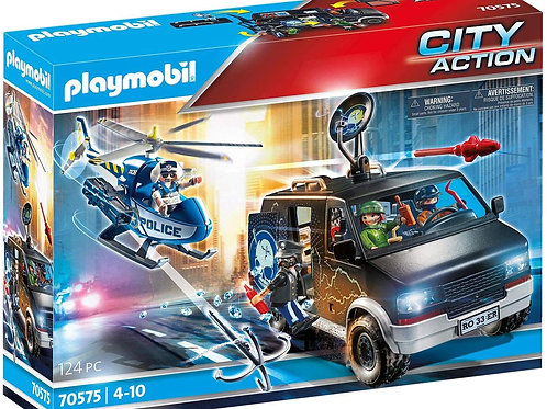 Playmobil 70575 City Action - Police Helicopter after Fleeing Vehicle