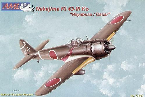AML - Nakajima Ki 43-III Ko Hayabusa/Oscar 1/72