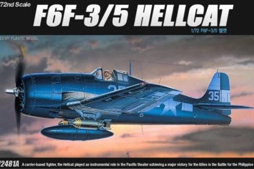 Academy - Grumman F6F-3/F6F-5 Hellcat 1/72