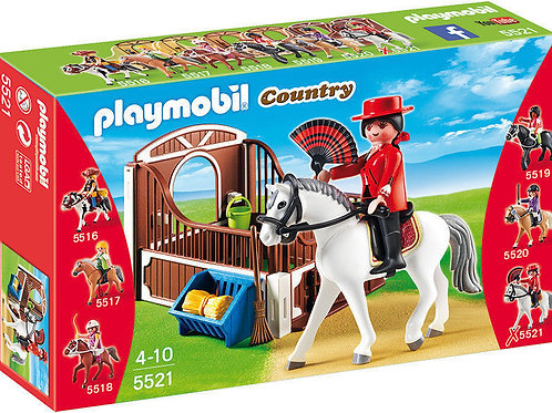 Playmobil 5521 Country - Flamenco Horse with Stall