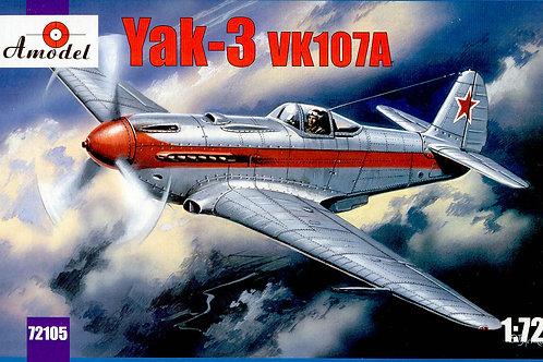 Amodel - Yakovlev Yak-3 VK107A 1/72