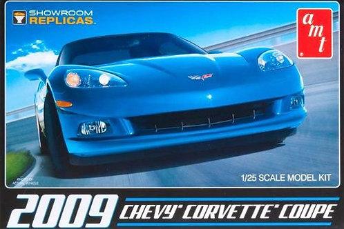 AMT - 2009 Corvette Coupe 1/25