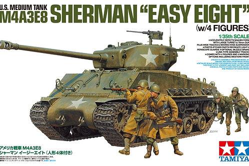 Tamiya - U.S. Tank M4A3E8 Sherman 'Easy Eight'