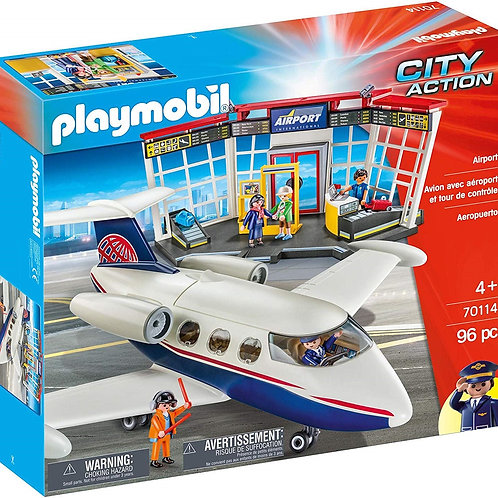 Playmobil 70114 City Action - Airport