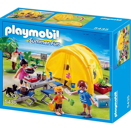 Playmobil 5435 - Family with Camping Tent