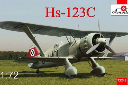 Amodel - German Henschel Hs 123C 1/72