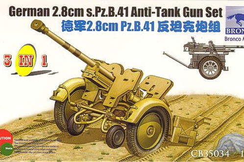 Bronco - German 2.8cm S.Pz.B.41 Anti-Tank Gun