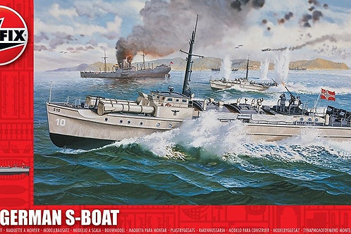 Airfix - German Navy S-Boat 1/72