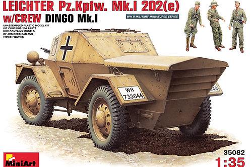MiniArt - Leichter Pz.Kpfw. Mk.1 202(e) DAK 1/35