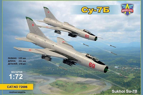 Modelsvit - Soviet Sukhoi Su-7B Fitter 1/72
