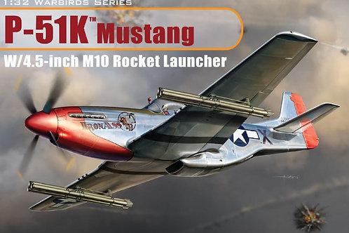 Dragon - P-51K Mustang w/4.5-inch M10 Rocket Launc