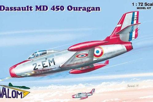 Valom - Dassault MD 450 Ouragan 1/72