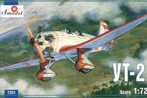 Amodel - Soviet Trainer Airplane Yakovlev UT-2