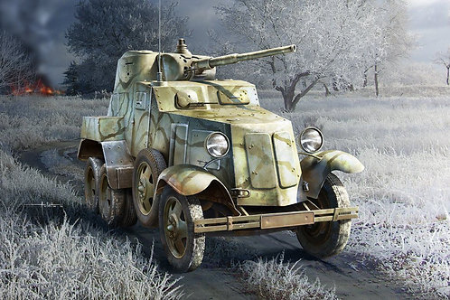 Hobby Boss - Soviet BA-10 Armoured Car 1/35