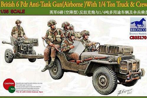 Bronco - British 6pdr Anti-Tank Gun (Airborne)