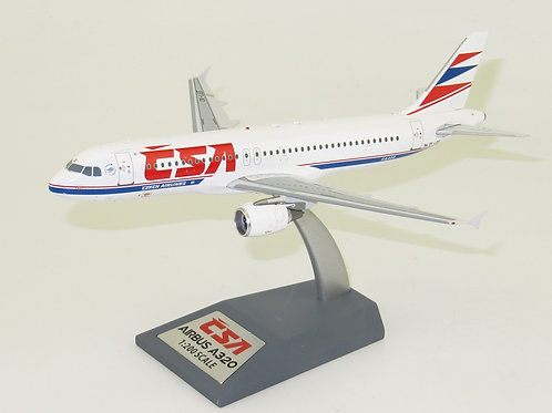 Inflight 200 - Airbus A320 CSA Czech Airlines OK-LEE with stand 1/200