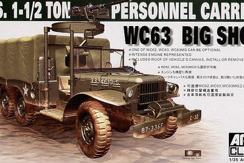 AFV Club - WC63 Big Shot 1 1/2 Ton PC 1/35