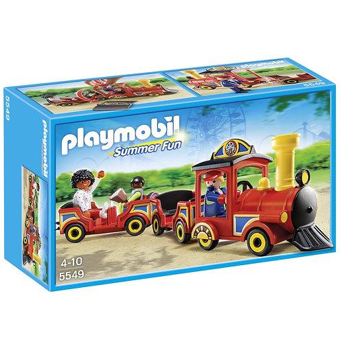 Playmobil 5549 Summer Fun - Amusement Park Children's Train