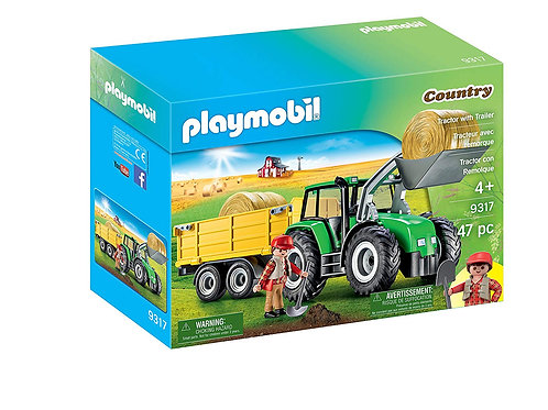 Playmobil 9317 Country - Tractor with Trailer