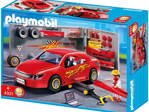 Playmobil 4321 - Car Repair And Tuning Shop