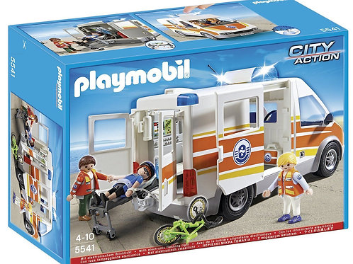 Playmobil 5541 City Action - Ambulance with Siren