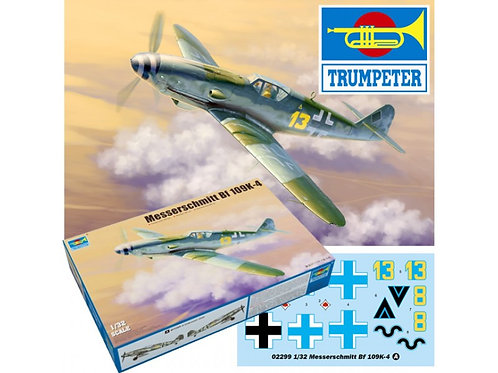Trumpeter - Messerschmitt Bf-109K-4 1/35