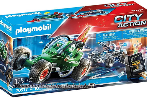 Playmobil 70577 City Action - Police and Thief Kart