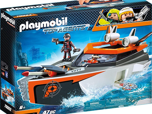 Playmobil 70002 Top Agents - Spy Team Turboship