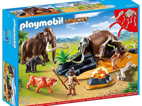 Playmobil 5087 History - Stone Age Camp