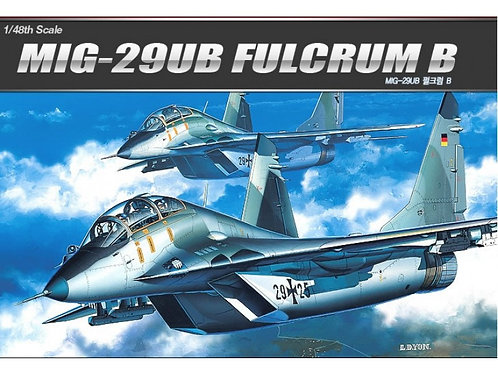 Academy - MIG-29UB Fulcrum B 1/48