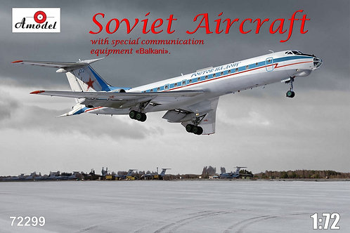"Amodel - Tupolev Tu-134AK ""Balkani"" 1/72"