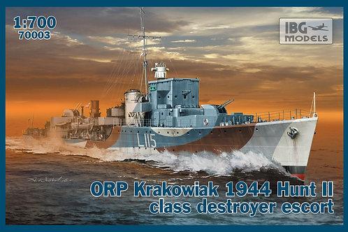 IBG Models - ORP Krakowiac 1944 Hunt II 1/700