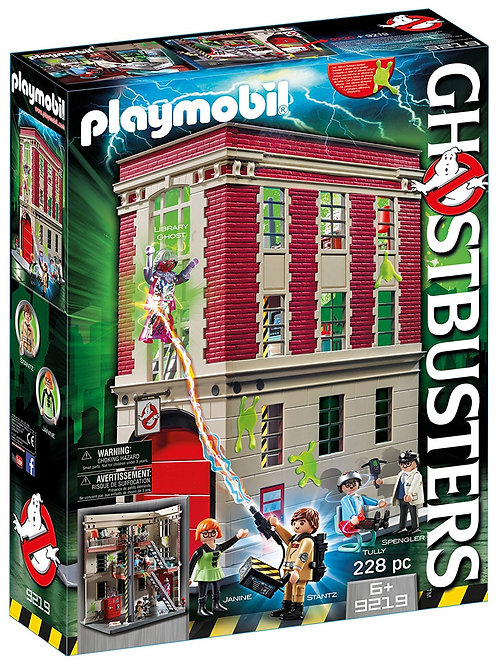 Playmobil 9219 Ghostbusters - Ghostbusters Firehouse