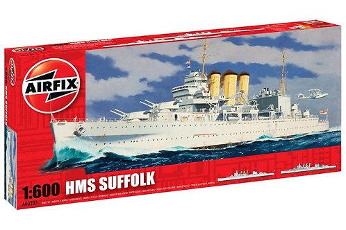 Airfix - HMS Suffolk 1/600