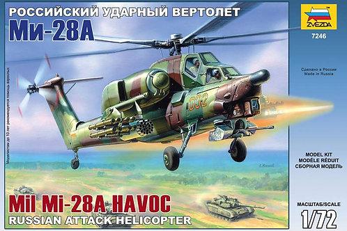 Zvezda - Russian Mil Mi-28A Havoc 1/72