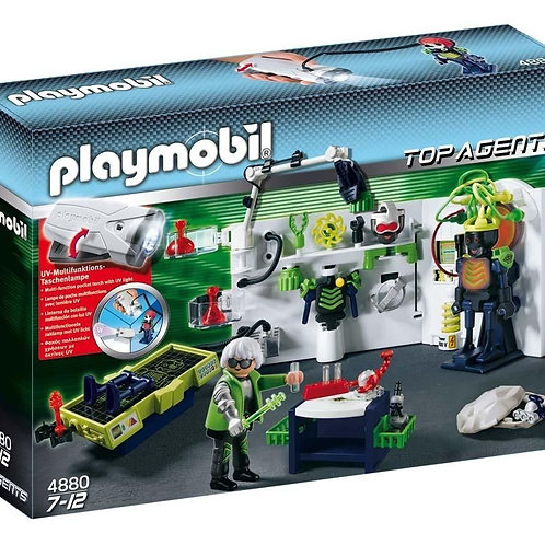 Playmobil 4880 Top Agents - Robot Gangster Laboratory