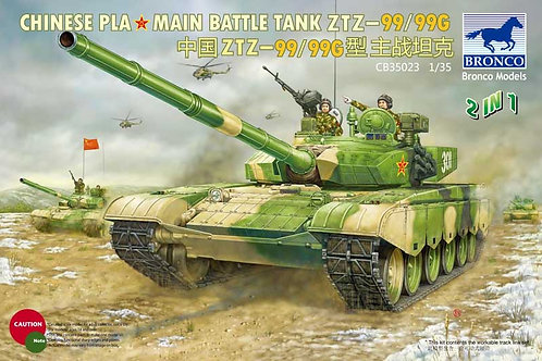 Bronco - Chinese PLA Type 99/99G MBT 1/35