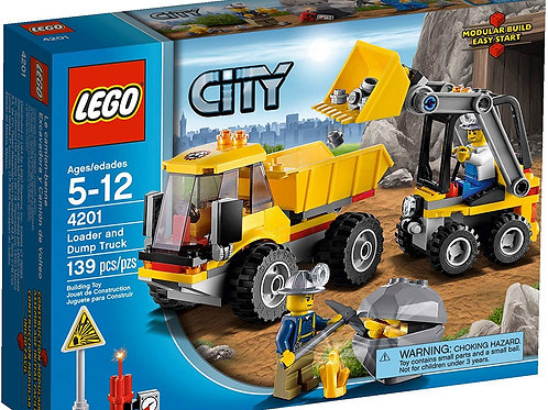 Lego 4201 City - Digger with Dumper