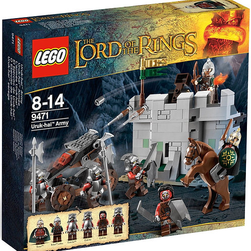 Lego 9471 The Lord Of The Rings - Uruk-hai Army