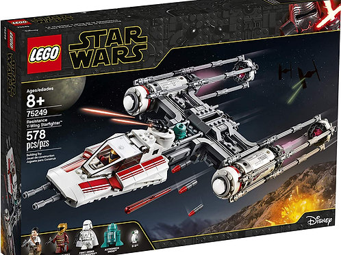 Lego 75249 Star Wars - Resistance Y-Wing Starfighter