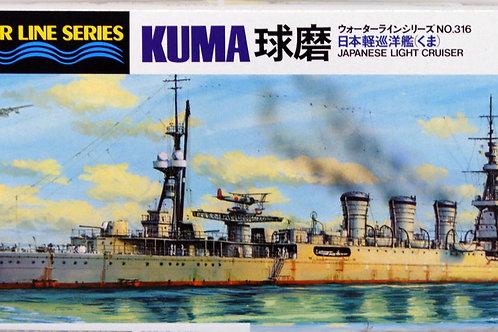 Tamiya - IJN Light Cruiser Kuma 1/700