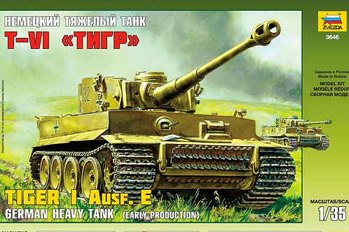 Zvezda - German Heavy Tank Tiger I Ausf. E 1/35