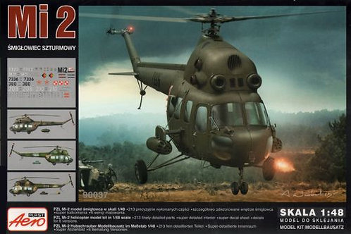 Aeroplast - Mi-2 Assault Version 1/48