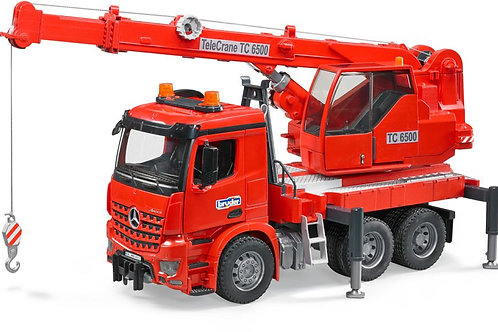 Bruder 03670 - Mercedes-Benz MB Arocs Crane Truck 1/16