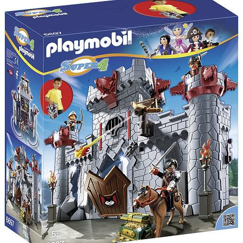 Playmobil 6697 - Take Along Black Baron's Castle