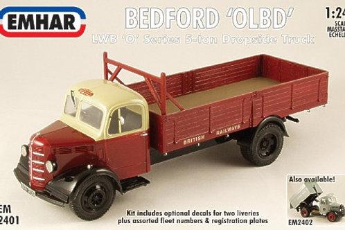 Emhar - Bedford OLDB Dropside Truck 1/24