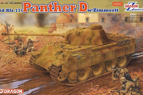 Dragon - Sd.Kfz.171 Panther D with Zimmerit 1/35