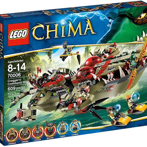 Lego 70006 Legends of Chima - Cragger's Command Ship
